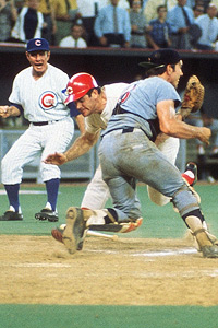 Image result for pete rose ray fosse