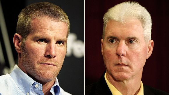 Brett Favre and Ted Thompson