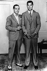 Rudolph Valentino & Jack Dempsey