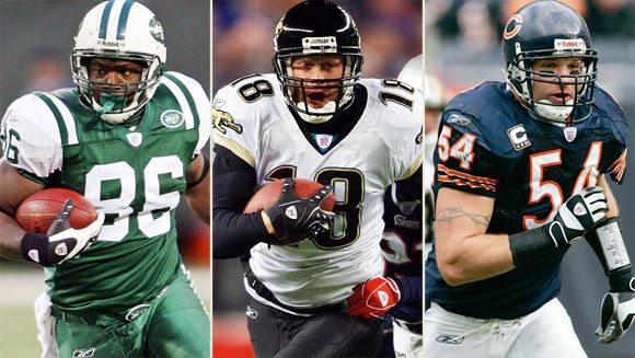 Chris Baker, Matt Jones, Brian Urlacher