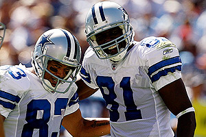 Terry Glenn and Terrell Owens