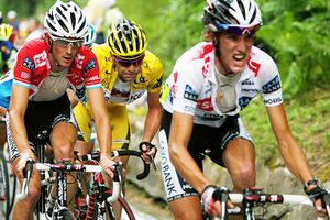 Frank Schleck and Andy Schleck
