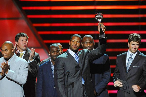 Giants accept ESPY