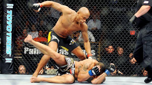 Anderson Silva James Irvin UFC MMA