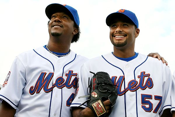 Pedro Martinez and Johan Santana