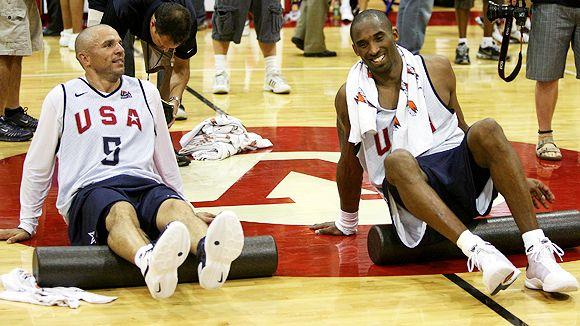Jason Kidd, Kobe Bryant
