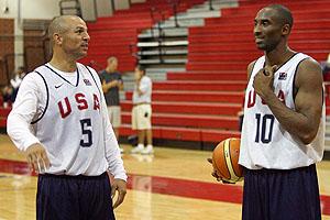 Jason Kidd & Kobe Bryant