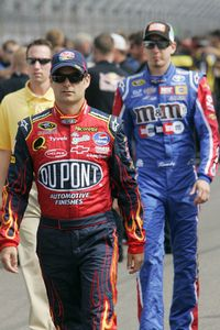 Jeff Gordon, Kyle Busch
