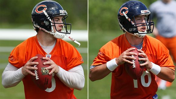 Rex Grossman and Kyle Orton