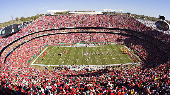 Arrowhead Stadium Seating Chart Pictures Directions And