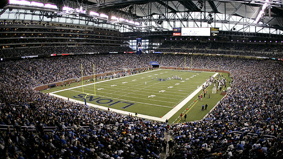 Ford Field Seating Chart Pictures Directions And History Detroit Lions Espn