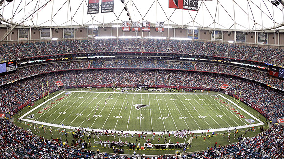 Georgia dome seating chart pictures directions and history