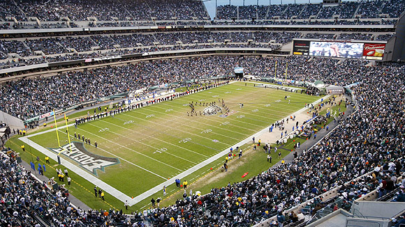 Lincoln Financial Field Seating Chart Pictures