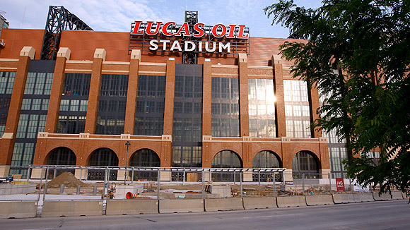 Lucas Oil Stadium Seating Chart Pictures Directions And