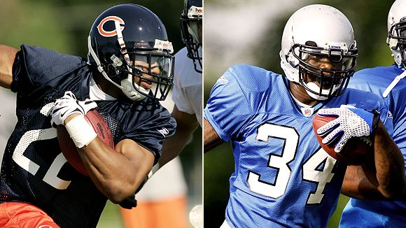Matt Forte and Kevin Smith