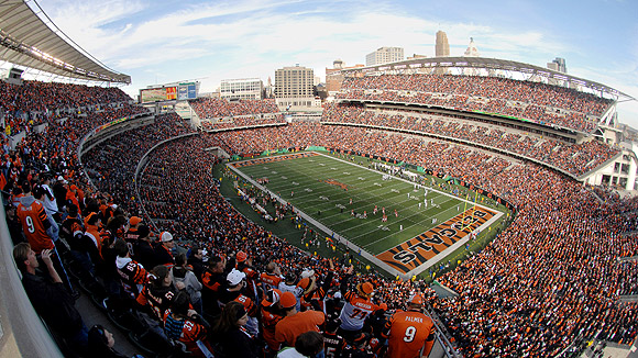 Paul Brown Stadium Seating Chart Pictures Directions