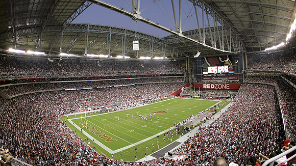 University of phoenix stadium seating chart pictures directions and