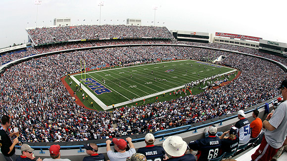 Ralph Wilson Stadium Seating Chart Pictures Directions