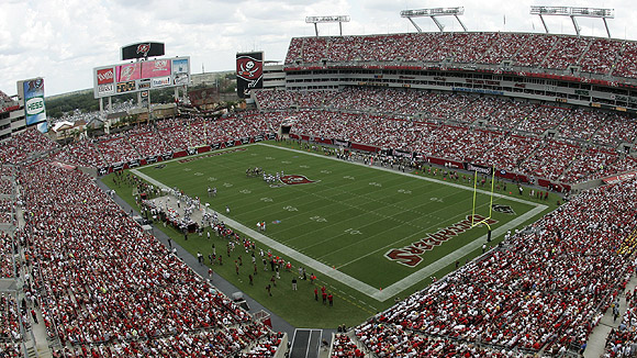 Raymond James Stadium Seating Chart Pictures Directions