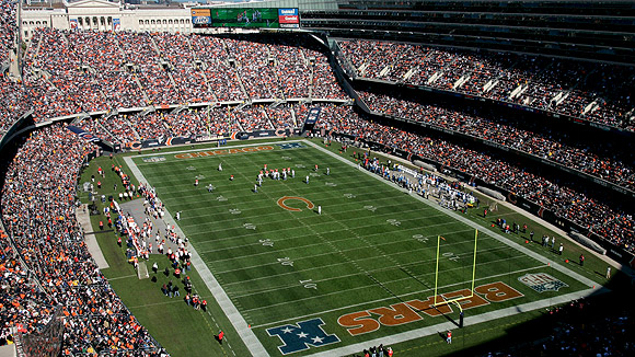 Soldier Field Seating Chart Pictures Directions And