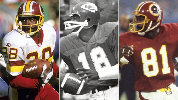 Darrell Green, Emmitt Thomas, Art Monk