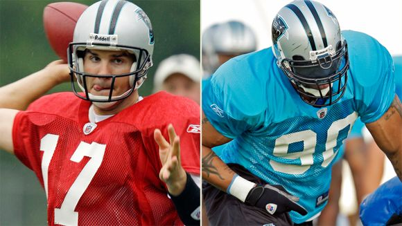 Jake Delhomme, Julius Peppers