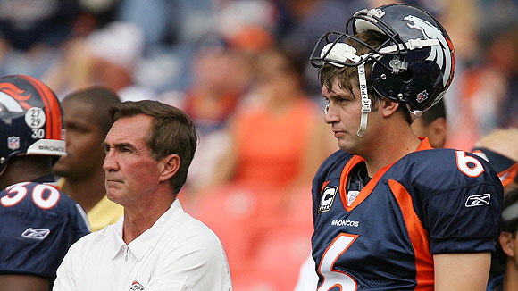 Jay Cutler and Mike Shanahan