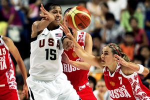 Candace Parker and Becky Hammon