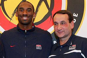 Kobe Bryant & Coach K