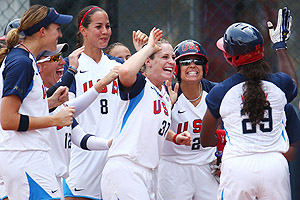 US Womens Softball Team