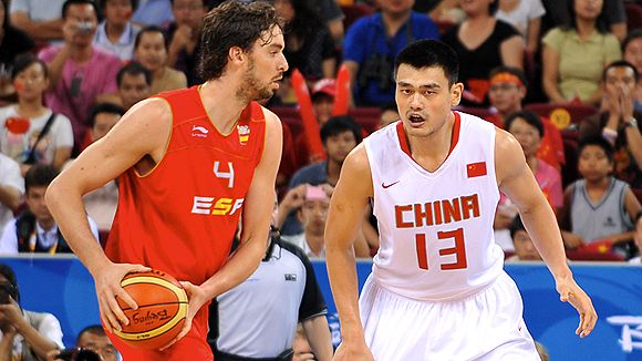 Gasol and Yao