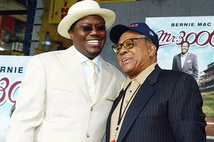 Bernie Mac and Willie Mays