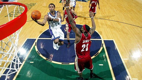 Mo Williams and LeBron James