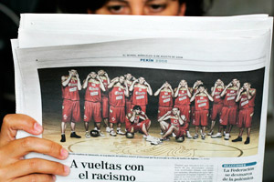 Spain's Olympic basketball team