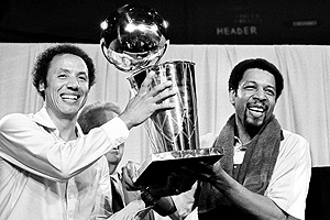 Lenny Wilkens & Fred Brown
