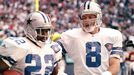 Emmitt Smith and Troy Aikman