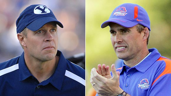 Bronco Mendenhall/Chris Peterson