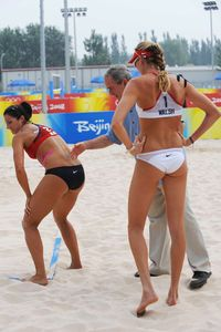 Misty May Treanor, George W. Bush, Kerri Walsh