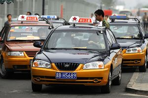 Taxis in Beijing