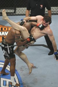 Quinton Jackson and Forrest Griffin