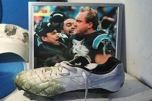Kevin Greene's shoe