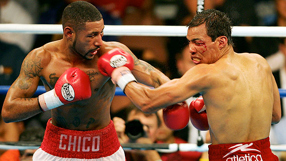 Diego Corrales and Jose Luis Castillo