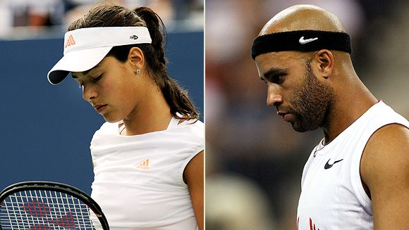 Ana Ivanovic and James Blake