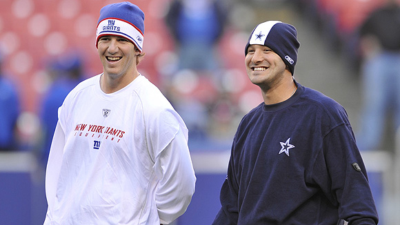 Eli Manning & Tony Romo