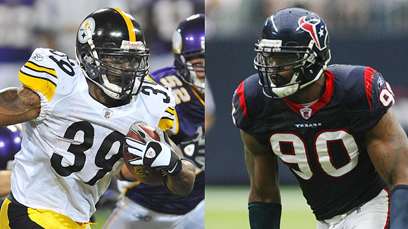 Willie Parker/Mario Williams
