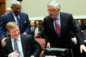 Roger Goodell and David Stern