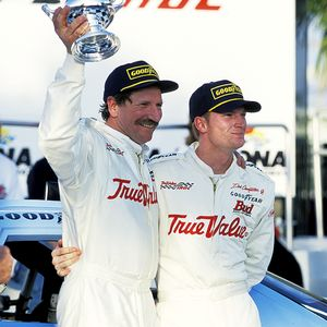 Dale Earnhardt and Dale Jr
