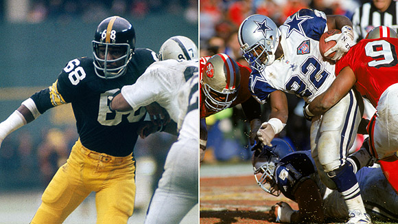 L.C. Greenwood/Emmitt Smith