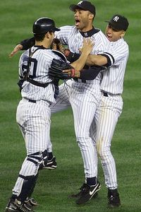 Jeter, Posada, and Rivera