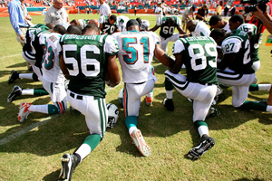 Miami Dolphins and New York Jets